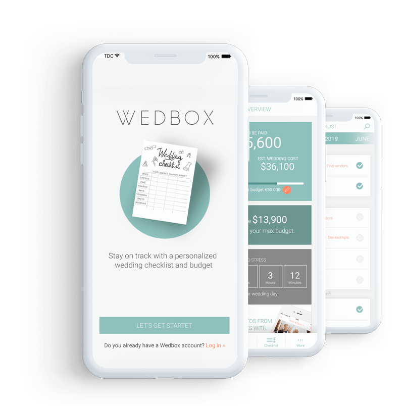Wedbox wedding apps